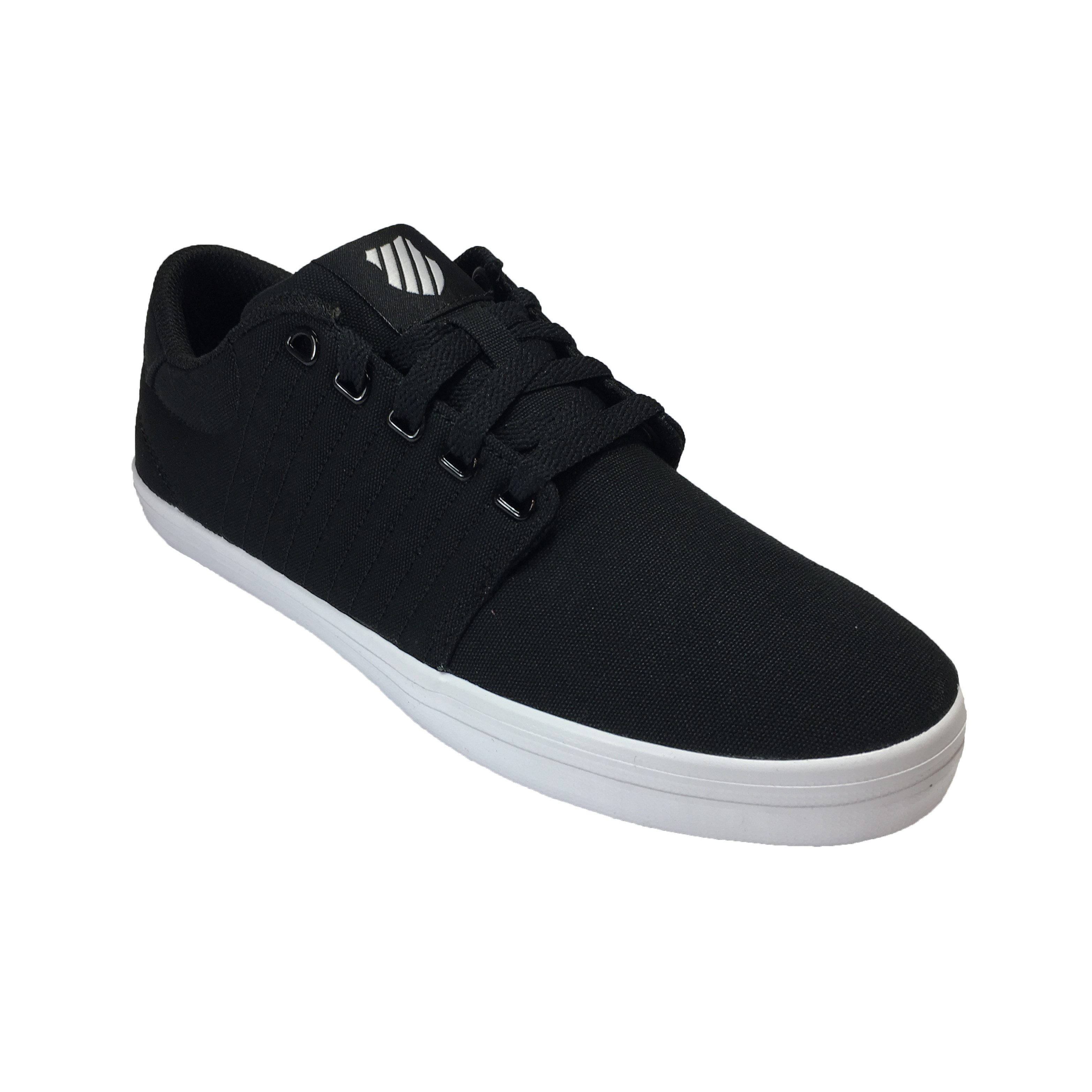 Backspin Canvas Shoes Trainers Black