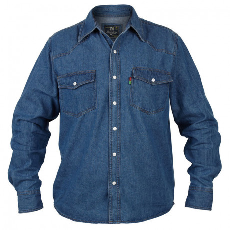Duke Big Kingsize Blue Denim Shirt Image