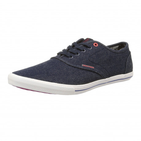 Jack & Jones Men's Low Spider Denim Canvas Shoes Light Blue | Jean Scene