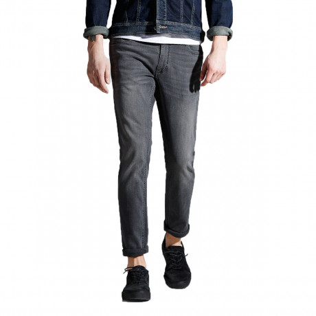 Jack & Jones Tim Original Slim Fit Denim Jeans Grey | Jean Scene
