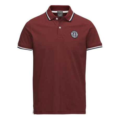 Jack & Jones Originals Polo Pique T-Shirt Syrah | Jean Scene