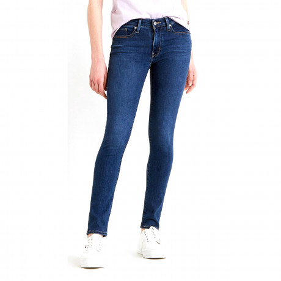 Levis 711 Women's Skinny Stretch Jeans Bogota Life | Jean Scene