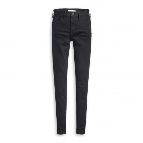 Levis 720 Women's High Rise Supper Skinny Stretch Jeans Black Celestial | Jean Scene