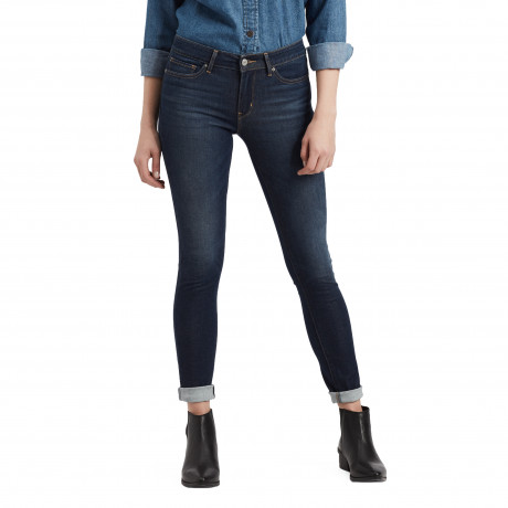 Levis 711 Women's Skinny Stretch Jeans High Roller | Jean Scene
