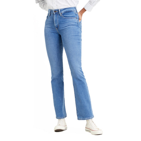 Levis 725 Women's High Rise Bootcut Stretch Jeans Rio London Pride | Jean Scene