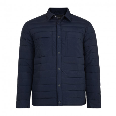 French Connection Men's Quilted Jacket Marine Blue | Jean Scene