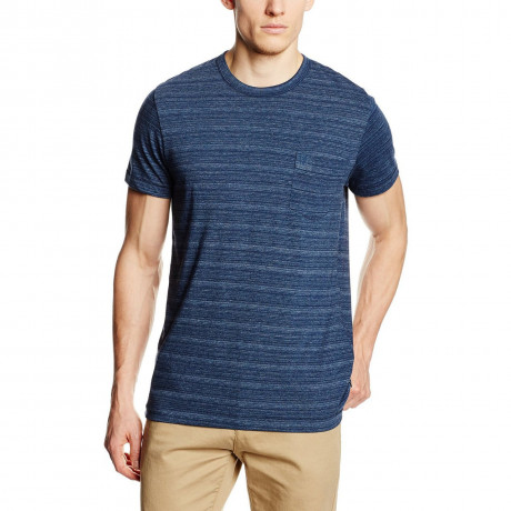 French Connection Stripe T-shirt Marine Blue