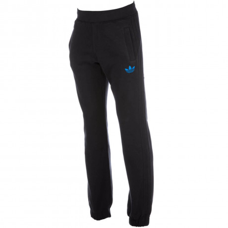 adidas Originals Trefoil Fleece Pants Black Blue