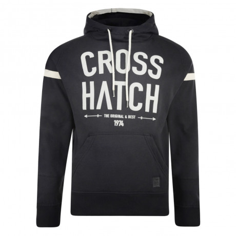Crosshatch Chassis Hoodie Black
