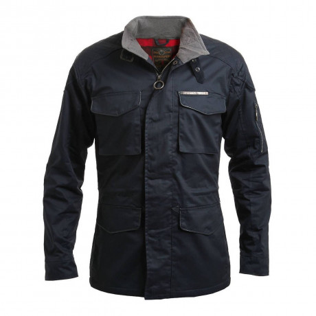 Ringspun Men's Chuckle Cotton Fleece Field Jacket Navy