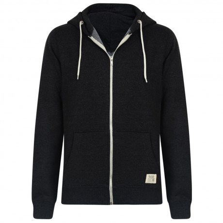Blend Zip Up Hoodie Dark Grey Image