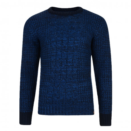 Tokyo Laundry Crew Neck Ludo Knitted Jumper True Navy