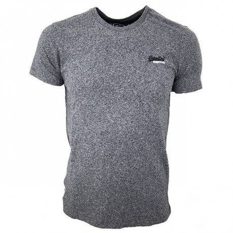 Superdry Crew Neck Vintage Embroidery T-shirt Grey Grindle