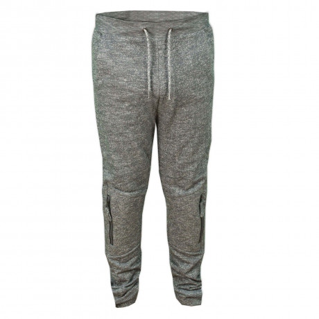 Soul Star Fleece Sweat Pants Elwood Bottoms Charcoal