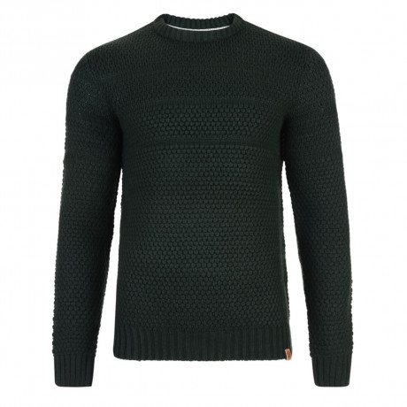 Tokyo Laundry Crew Neck Pyramid Knitted Jumper Hunter Green