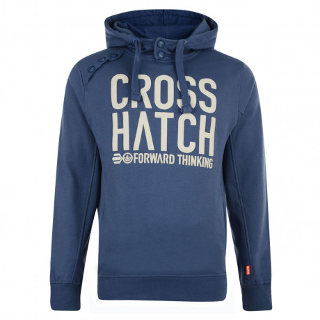 Crosshatch Playball Hoodie True Navy