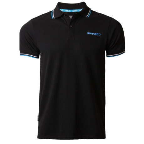 Sonneti Men's City Road Polo Shirt Anthracite Black