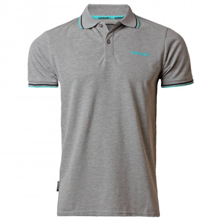 Sonneti Men's City Road Polo Shirt Atheletic Grey Marl