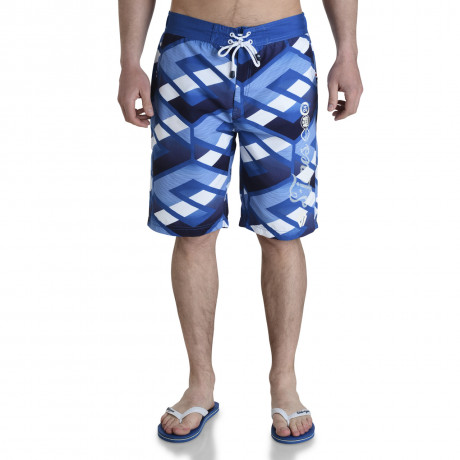 Smith & Jones Beach Swim Shorts & Flip Flop Set Latitude Blue Image