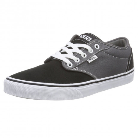 VANS Atwood 2 Tone Trainers Pewter Black