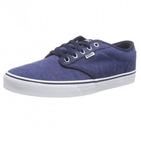 VANS Atwood Distress Trainers Dress Blue White