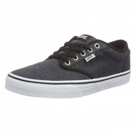 VANS Atwood Distress Trainers Black White
