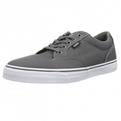 VANS Winston Canvas Trainers Pewter Grey