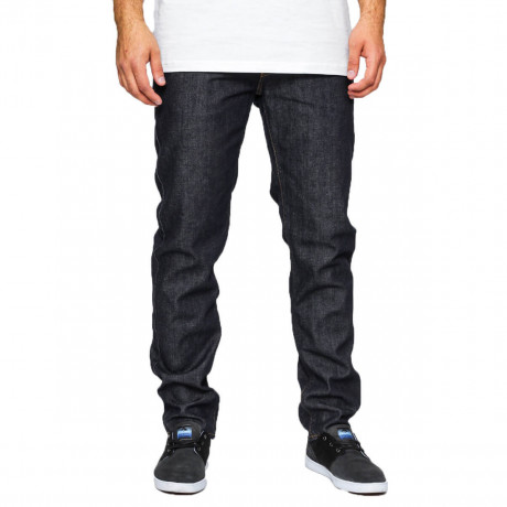 VANS V46 Tapered Denim Jeans Raw Indigo Blue Image