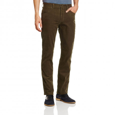 Wrangler Arizona Stretch Corduroy Jeans Mongoose Water Resistant