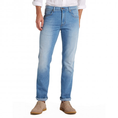 Wrangler Arizona Stretch Denim Jeans Ocean Winds Blue
