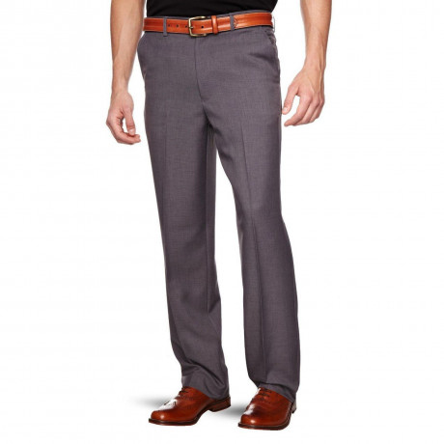Farah Flexi Waist Trousers Grey