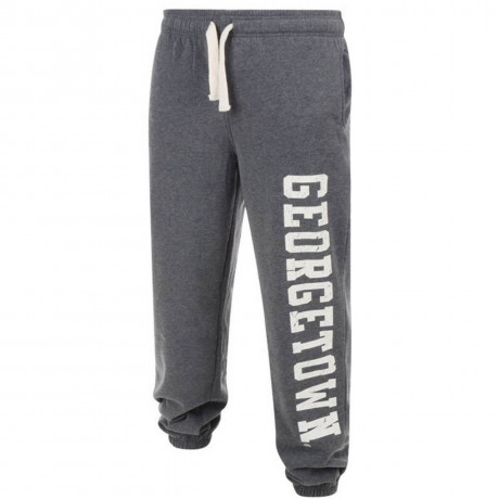 American Freshman Fleece Sweat Pants Parklands Georgetown Bottoms Grey
