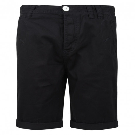 Soul Star Casual Summer Chino Shorts Navy Blue Image