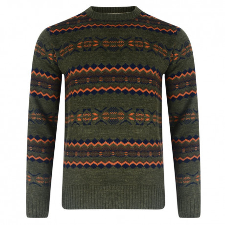 Tokyo Laundry Crew Neck Jumper Forest Marl Image