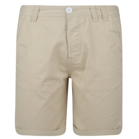 Soul Star Casual Summer Chino Shorts Stone Beige Image