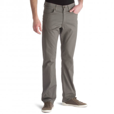 Lee Brooklyn Light Cotton Jeans Stretch Fabric Taupe Image