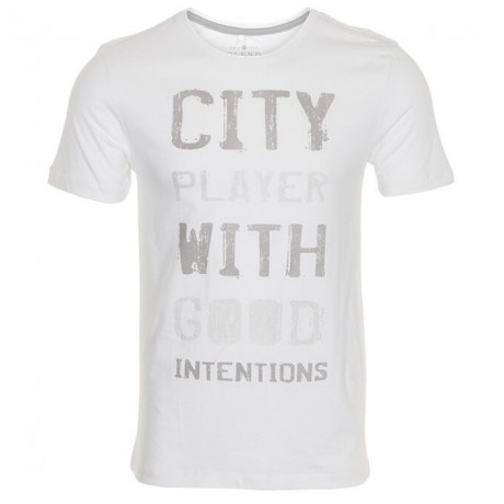 Blend City Player Print T-shirt White Image