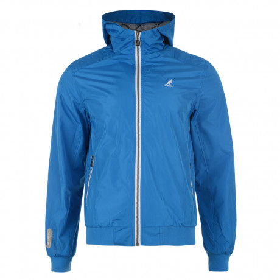 Kangol Hooded Track Jacket Cobalt Blue Image
