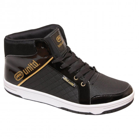 Ecko High Top Trainers Black Image