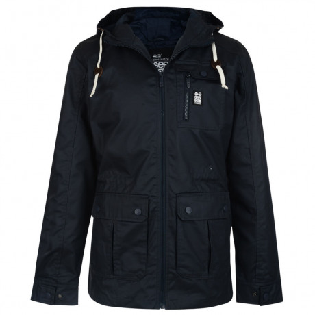 Crosshatch Shayter Hooded Jacket Total Eclipse Image