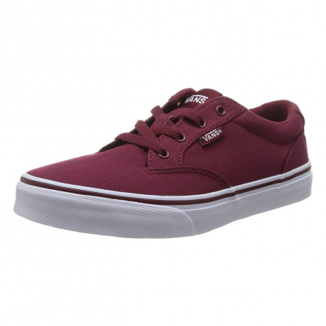 Vans Winston Canvas Trainers Cordov Red Image