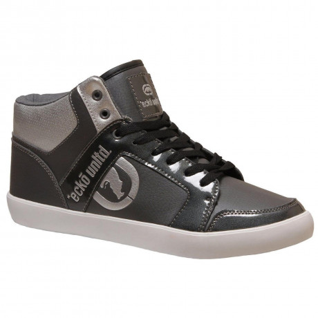 Ecko High Top Trainers Grey Image
