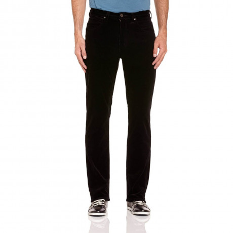 Lee Brooklyn Straight Stretch Black Cords Image
