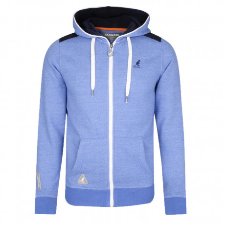 Kangol Gander Full Zip Hoodie Light Blue Image