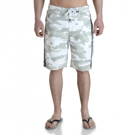 Smith & Jones Beach Swim Shorts & Flip Flop Set Camo Sand Image