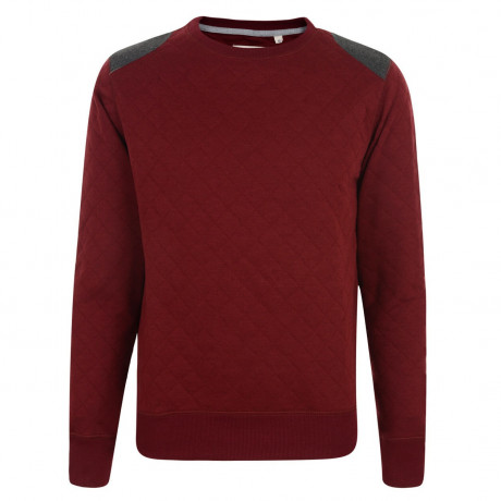 Conspiracy Sweatshirt Top Burgundy Image