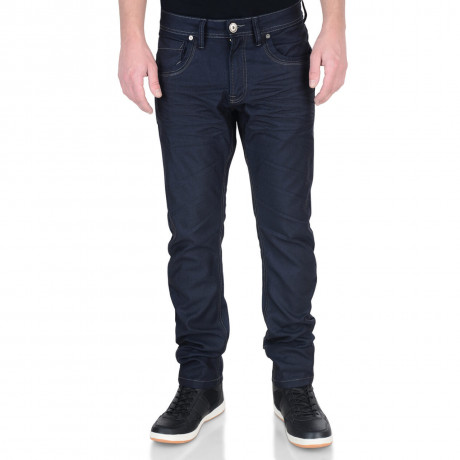 Crosshatch Slim Fit Stretch Jeans Menzo Dark Ink Image