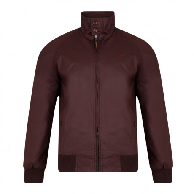 Lee Cooper Men's Cotton Classic Harrington Jacket Truffle | Jean Scene