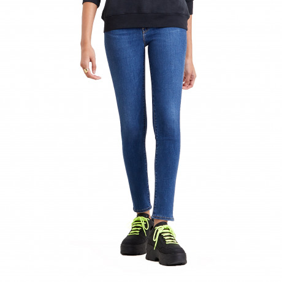 Levis 721 Women's High Rise Skinny Stretch Jeans Bogota Fun | Jean Scene