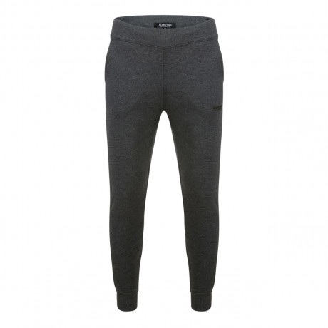 Firetrap Men's Fleece Tracksuit Jogging Joggers Charcoal Marl Pants | Jean Scene